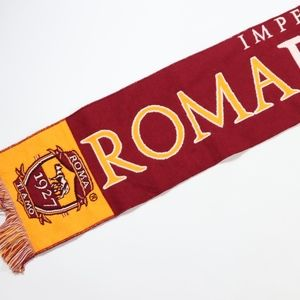 AS Roma Impero Romano Football Soccer Scarf Red